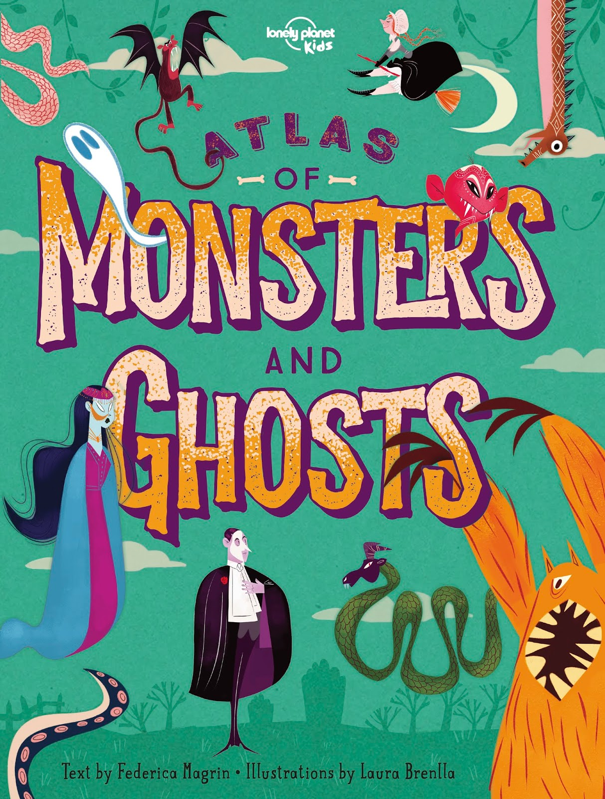 Kids' Book Review: Review: Atlas of Monsters and Ghosts