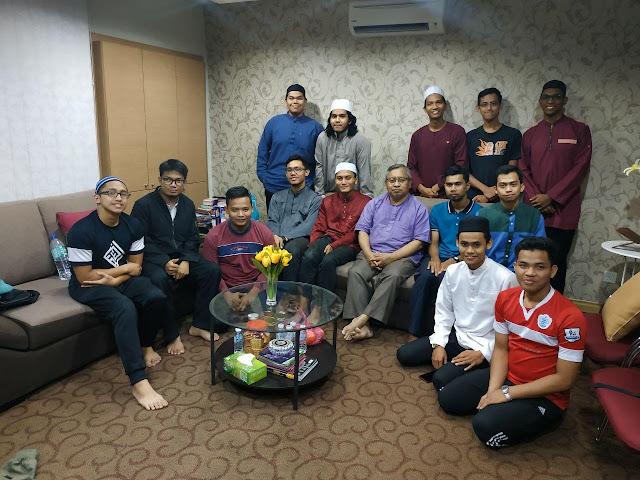 Kunjungan Team SQUKM berjumpa Murabbi Ustaz Fadzil Saleh (Founder Pustaka Darul Iman)