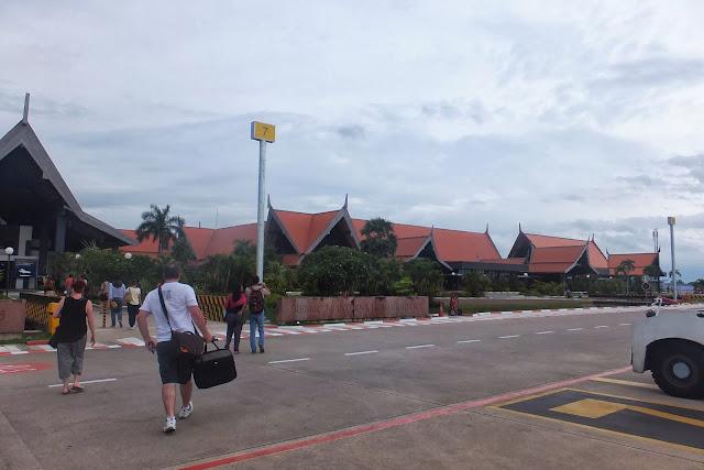 SiemReap-internationalairport シュムリアップ国際空港