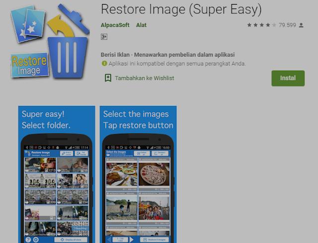 5+ Cara Mengembalikan Foto yang Terhapus di HP Android 5