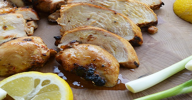 Ginger Teriyaki Grilled Chicken Breasts Recipe - Gutom Na!
