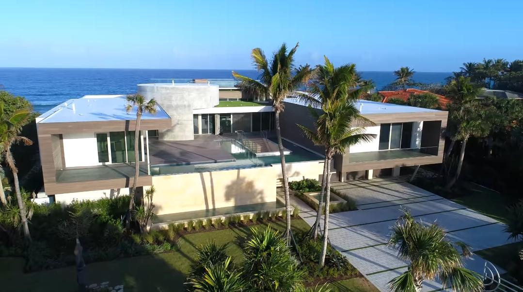 50 Interior Design Photos vs. 609 S Beach Rd, Jupiter Ultra Luxury Mansion Tour