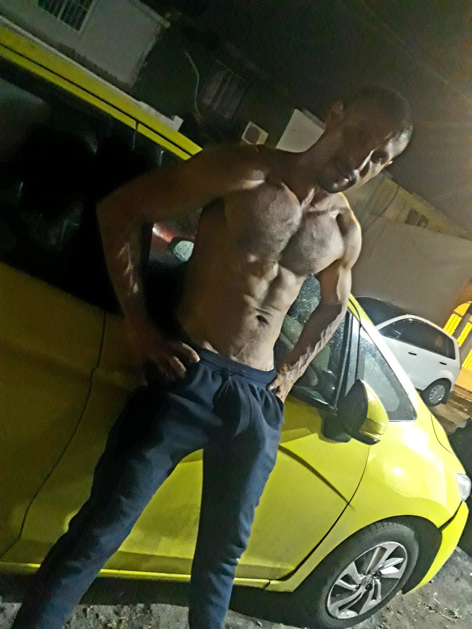 el taxista sin camisa