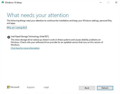 Microsoft Memblokir Windows 10 May 2019 Update Pada Beberapa Perangkat Intel