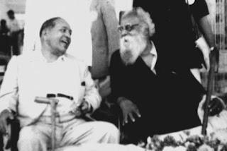 Ambedkar with Ramaswami Periyar