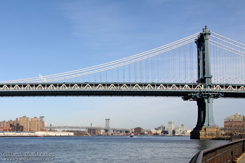Η γέφυρα Μανχάταν (c) Ε. Δημητράτου