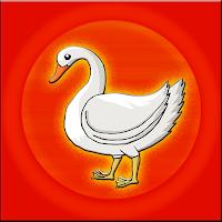 G2J White Swan Bird Escape