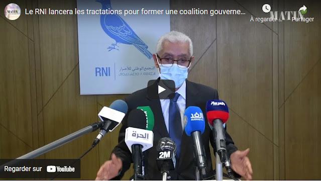 RNI : Aziz Akhannouch lancera les tractations gouvernementales avec tous les partis représentés au Parlement, dès la semaine prochaine