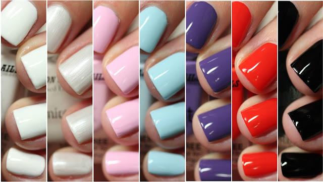Dimension Nails nail polish review