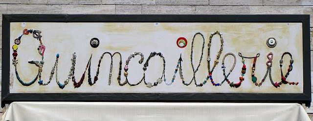 Quincaillerie boutique sign, via Gamerra, Livorno