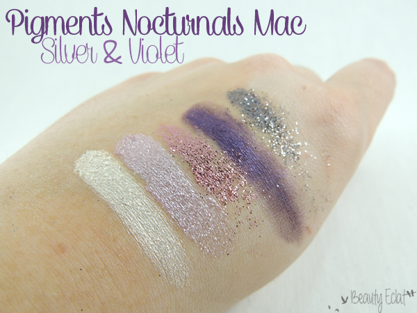 pigments mac collection nocturnals