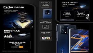 مواصفات وسعر هاتف vivo iQOO Z5