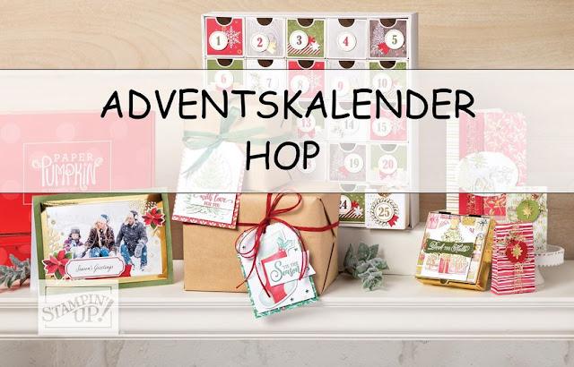 Adventskalender Hop Stampin Up