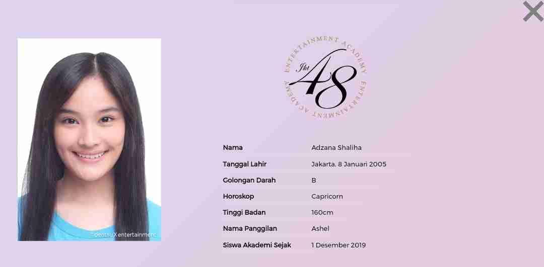 skandal adzana shaliha jkt48 ashel graduate pacar