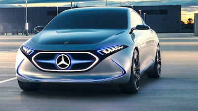 Mercedes-Benz EQA electric concept car