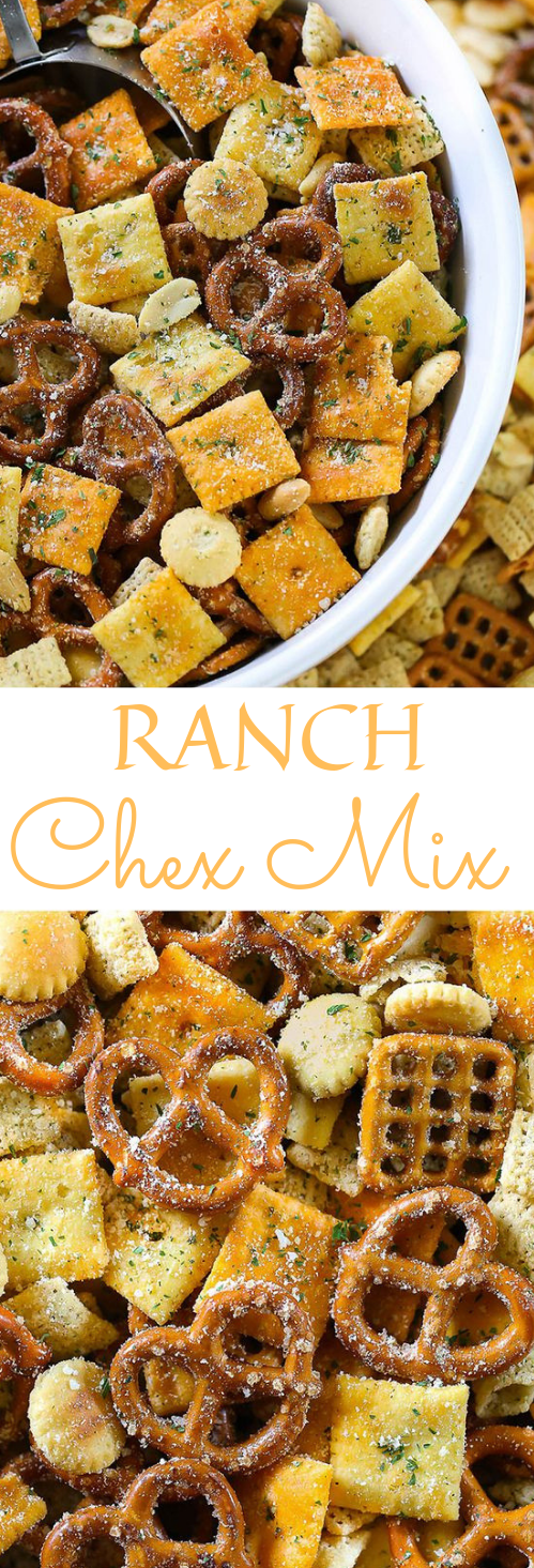 Ranch Chex Mix Snack #cake #snack