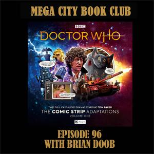 96: Big Finish Comic Adaptations Mega City Book Club podcast