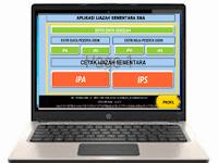 Aplikasi Cetak Ijazah Sementara SD dan SMA Format Xls