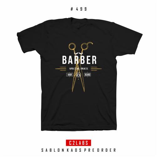 Barber Special Price - Desain Kaos Barber Shop #499
