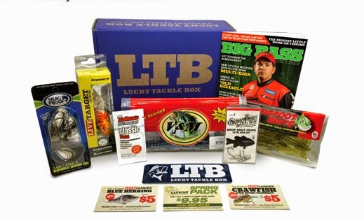 March 2015 Lucky Tackle Box Bass Fishing Lucky Tackle Box