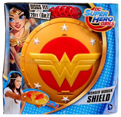 TOYS : JUGUETES - DC Super Hero Girls  Wonder Woman : Escudo - Shield  Producto Oficial Serie 2016 | Mattel DMP06 | A partir de 6 años  Comprar en Amazon España & buy Amazon USA
