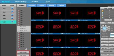 Setting Software SCMS untuk UVR SPC di komputer