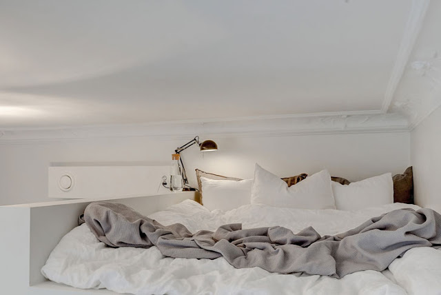 dormitor la înălțime