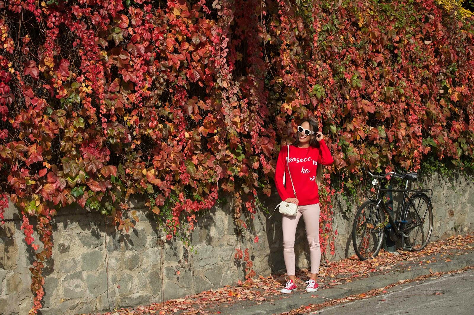 look in rosso e rosa