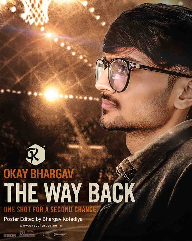 The Way Back Movie Poster Edited by Okay Bhargav | Free PSD Download