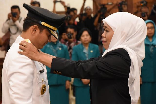 Dilantik Gubernur, Mochamad Nur Arifin Resmi Jadi Bupati Trenggalek