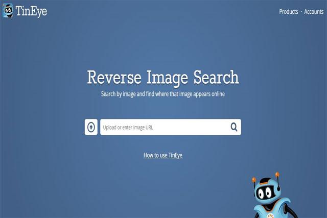 كيفية معرفة مصدر الأصلي لأي صورة في انترنت