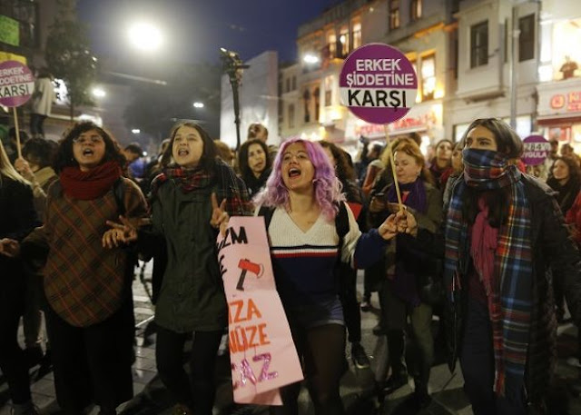 Αδιαφορία για τις δολοφονίες γυναικών στην Τουρκία