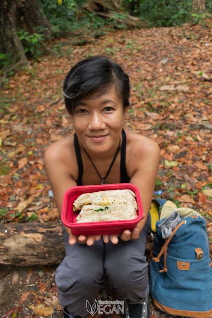 vegan trail food
