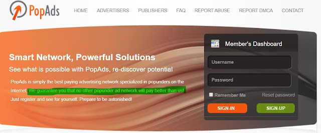 Popads Review - Top popunder ad network