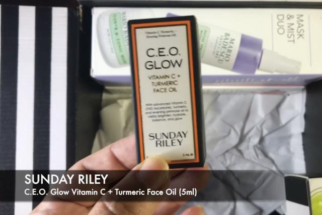 SUNDAY RILEY C.E.O. Glow Vitamin C + Turmeric Face Oil (5ml)