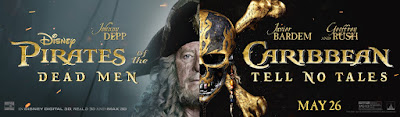 Pirates of the Caribbean Dead Men Tell No Tales Banner Poster 4