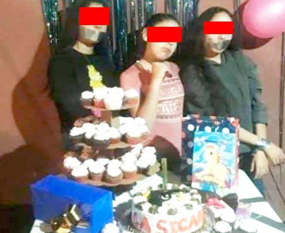 Niña de 10 años festeja su cumpleaños como Sicaria en Culiacán