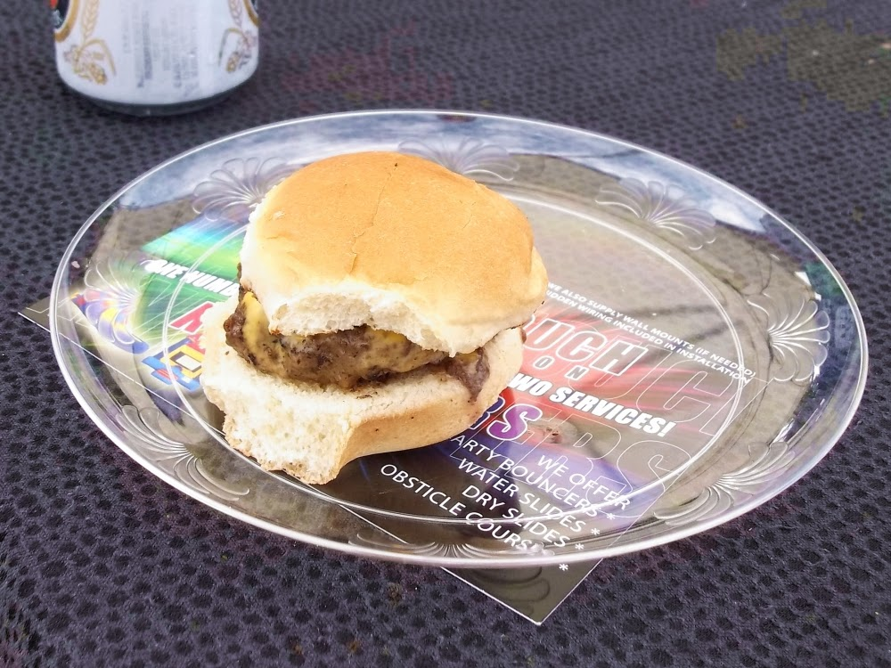 Squeal Street's entry at the 2014 Best Memphis Burger Fest