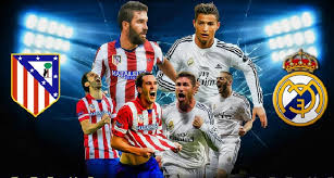 newgersy/ Atletico Madrid vs Real Madrid in the Champions League