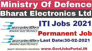 BEL Jobs 2021