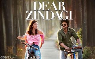 Dear Zindagi Movie Poster - Shah Rukh Khan, Alia Bhatt