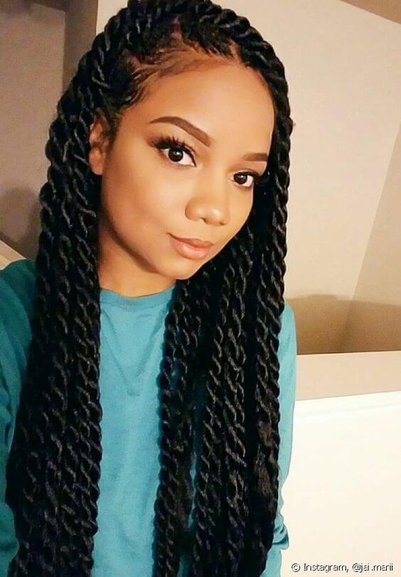 24 Best Havana Twist Braids Hairstyles 2020 For Black Women