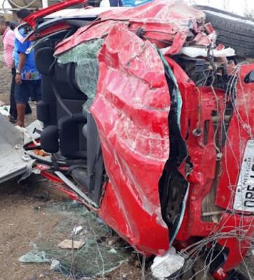 Moradores de Pão de Açúcar ficam feridos após se envolverem em acidente na AL-220 em Batalha