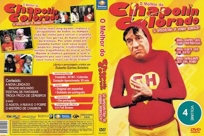 Série O Melhor do Chapolin Colorado Volume 4 DVD Capa