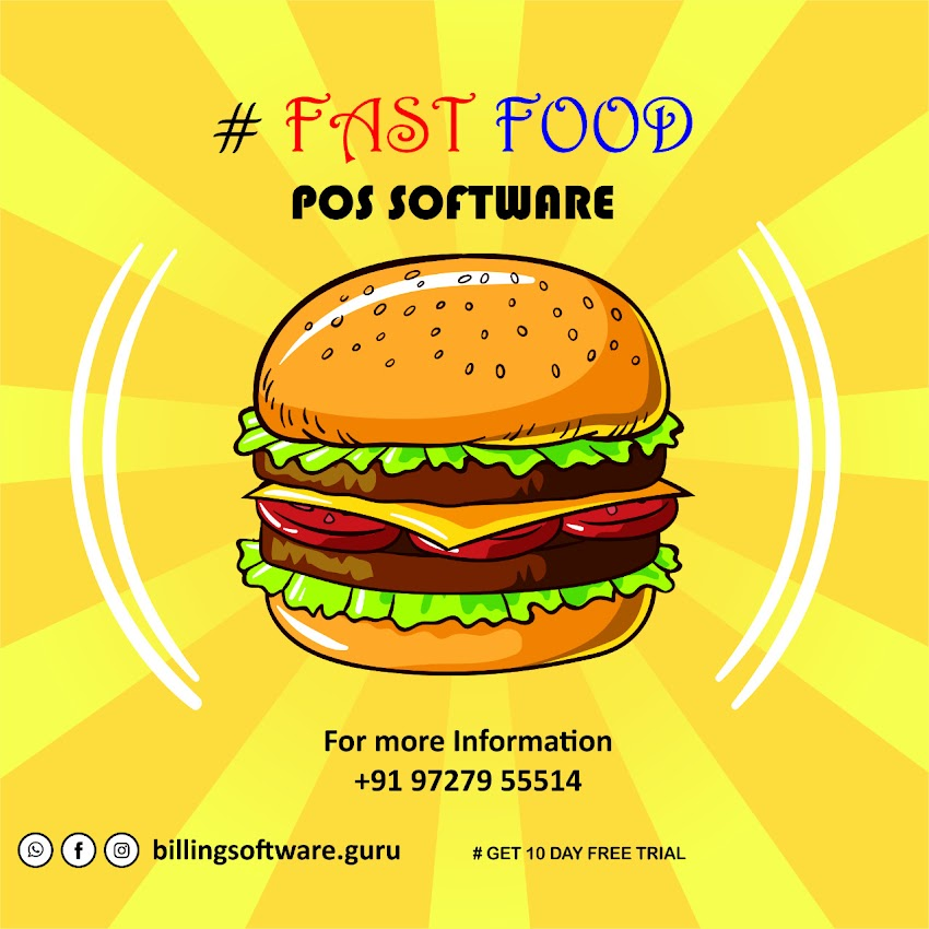 Fast Food Touch POS Software