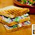 Sandwich ligero para noches frias...