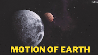 Motions Of Earth Objective