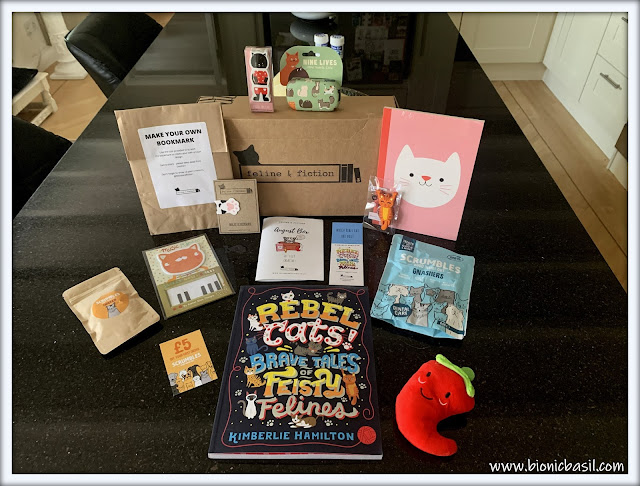 Amber's Book Reviews #140 ©BionicBasil® Feline and Fiction Subscription Box