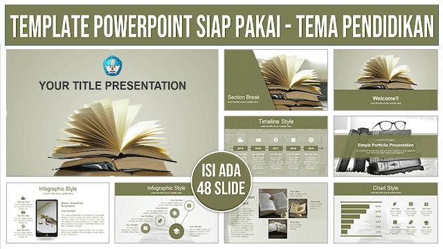 Contoh Template PowerPoint Modern