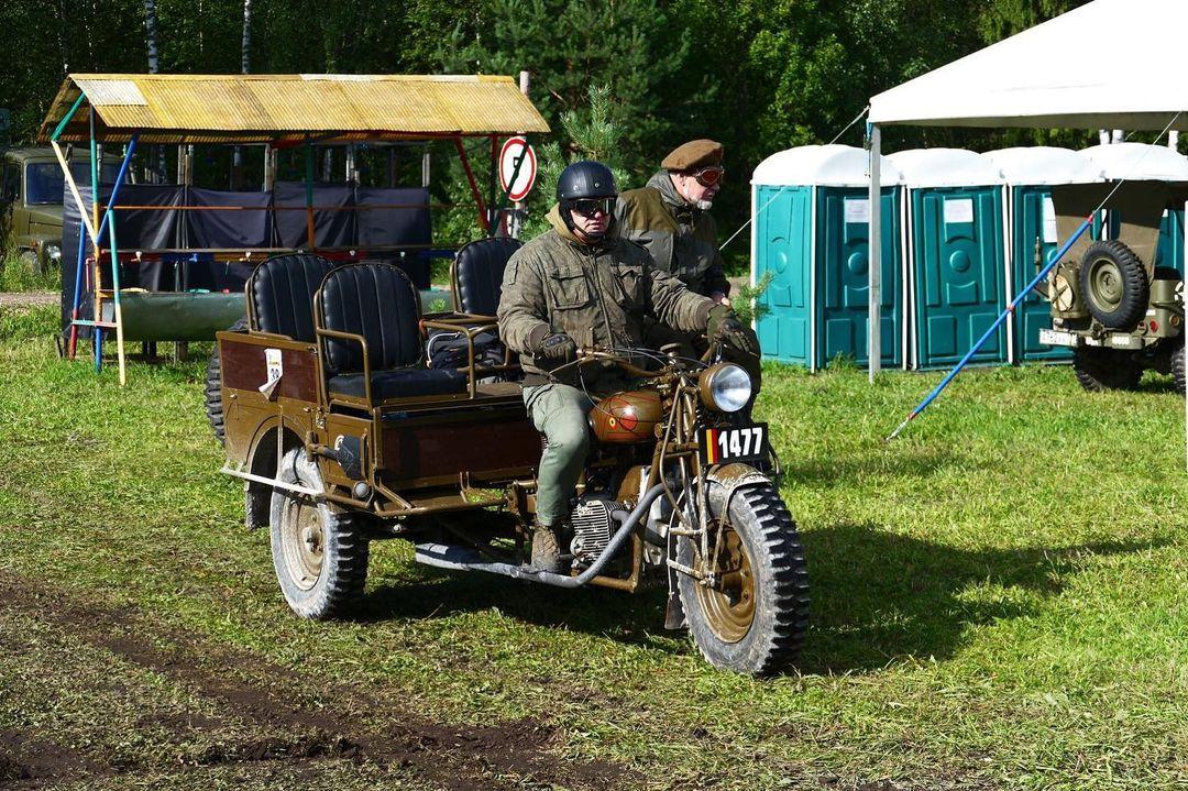 Sejarah Motor Perang Klasik FN Tricar 1939 dari Belgia